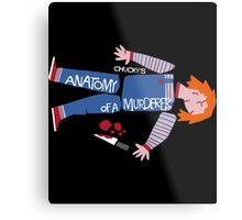 Anatomy of Chucky Metal Print
