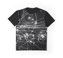 Particle tracks (dark) Graphic T-Shirt