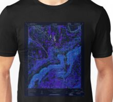 USGS TOPO Map Alabama AL Glencoe 303981 1947 24000 Inverted Unisex T-Shirt