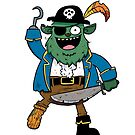 Pirate Monster by striffle