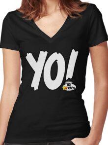 MTV Yo! Women's Fitted V-Neck T-Shirt
