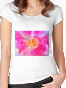 Mystery Tulip Women's Fitted Scoop T-Shirt