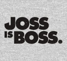 JOSS IS BOSS | BLACK INK One Piece - Long Sleeve