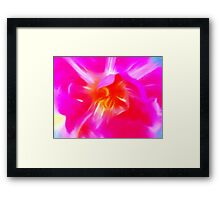 Watercolor Tulip Framed Print