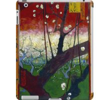 Vincent van Gogh Flowering Plum Orchard near Hiroshige iPad Case/Skin