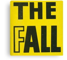 The Fall - Slates Canvas Print