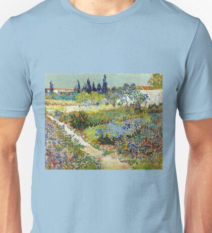 Vincent van Gogh Garden at Arles Unisex T-Shirt