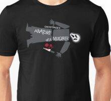 Anatomy of Ghostface Unisex T-Shirt