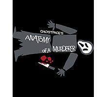 Anatomy of Ghostface Photographic Print
