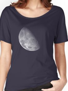 Moon Dark Women's Relaxed Fit T-Shirt