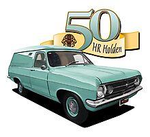 HR Holden Panel Van - Green Photographic Print