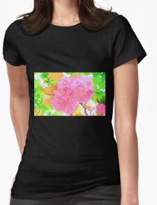 The Magical Blossom Tree ( Painting ) Womens Fitted T-Shirt