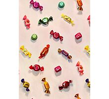 Sweet Candy Painted Pattern Photographic Print