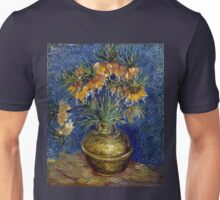 Vincent van Gogh Imperial Fritillaries in a Copper Vase Unisex T-Shirt
