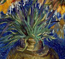 Vincent van Gogh Imperial Fritillaries in a Copper Vase Sticker