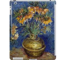 Vincent van Gogh Imperial Fritillaries in a Copper Vase iPad Case/Skin