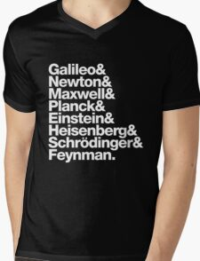 The Physicists List Mens V-Neck T-Shirt