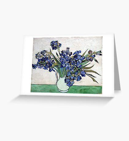Vincent van Gogh Irises Greeting Card