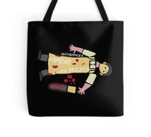 Anatomy of Leatherface Tote Bag