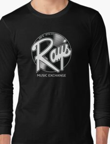 Ray's Music Exchange - Straight Exchange Logo Long Sleeve T-Shirt