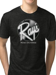 Ray's Music Exchange - Straight Exchange Logo Tri-blend T-Shirt