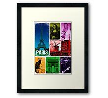 Le Paris Framed Print