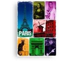Le Paris Canvas Print