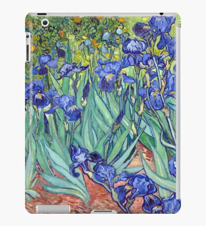 Vincent van Gogh Irises iPad Case/Skin