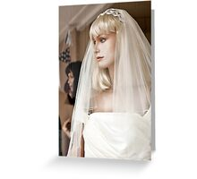 Mannequin 47 Greeting Card