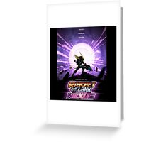 ratchet and clank in to the nexus Greeting Card