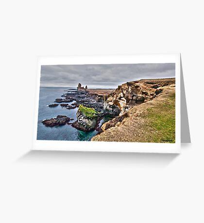 Snaefellsnes Peninsula Greeting Card
