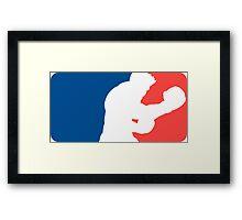 Major League Punch-Out!! - Little Mac Framed Print
