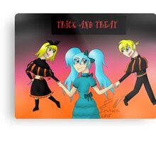 Trick and treat Metal Print