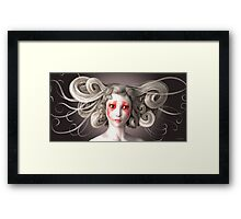 japanese fashion Framed Print