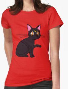 luna sailor moon Womens Fitted T-Shirt