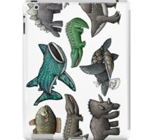 Scaly Critter Stickers iPad Case/Skin