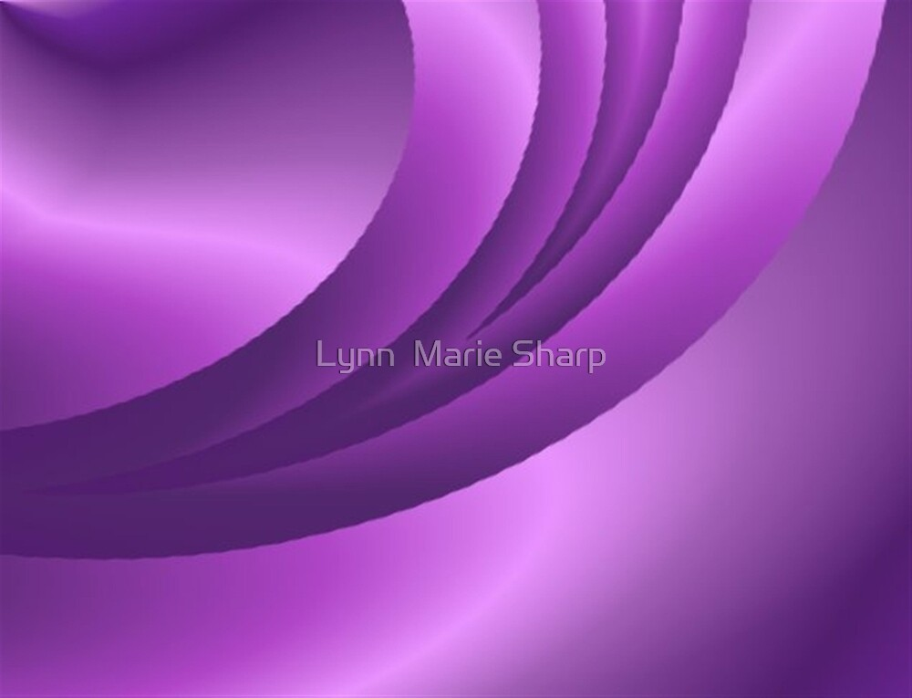 Purple Satin by Marie Sharp