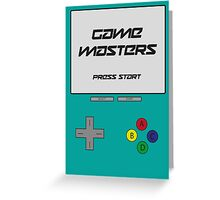 GAME MASTERS Greeting Card