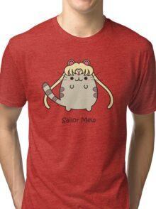 Sailor Mew Tri-blend T-Shirt