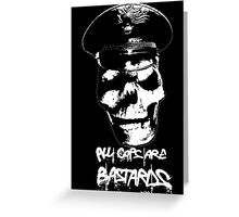 ACAB 2016 BLACK/WHITE Greeting Card
