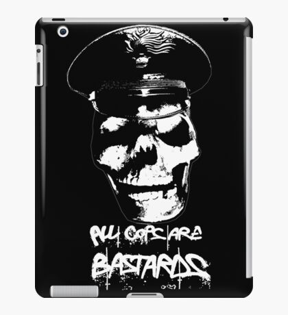 ACAB 2016 BLACK/WHITE iPad Case/Skin
