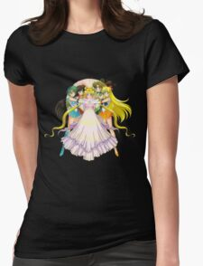 sailor moon Womens Fitted T-Shirt