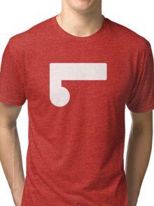 Legion of Super-Heroes; Element Lad (white) Tri-blend T-Shirt
