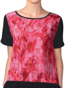 Hood River Oregon - April Flowers Chiffon Top