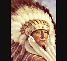 Native. American. Indian Chief, Native American tribe, Indian, Head dress Unisex T-Shirt