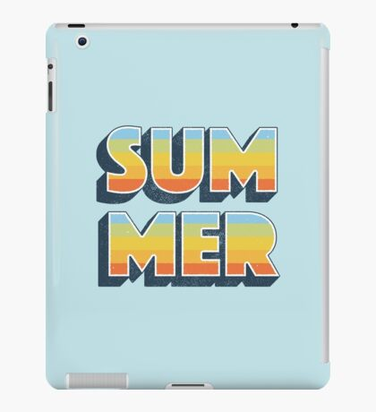Summer iPad Case/Skin