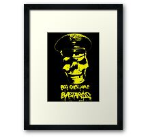 ACAB 2016 YELLOW Framed Print