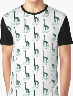 D is for Dino Graphic T-Shirt