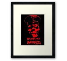 ACAB 2016 RED Framed Print