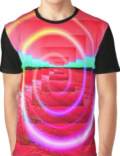 Red Abstract 2 Graphic T-Shirt